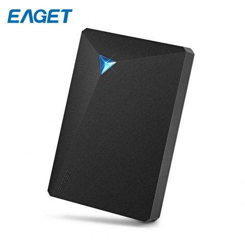 EAGET G20 HDD USB 3.0 External Hard Disk Drive Electronics Storage Device - BLACK 500GB