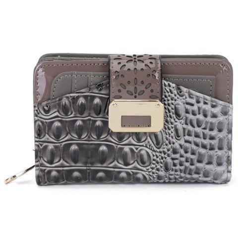 Women's Purse Print Classical Style All Match Bag - GRAY