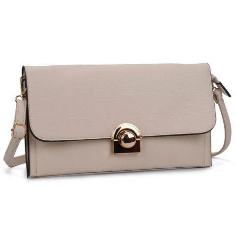 Women's Handbag Brief Style All Match  Bag - BEIGE