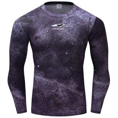 Fashion  Trend Men's  Wear Long Sleeve T-shirt - DAHLIA L