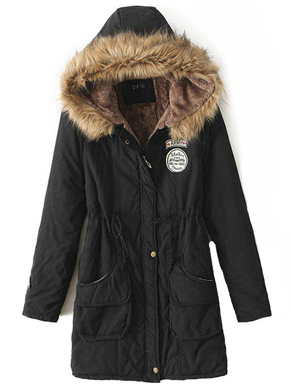 Image of New Long Parkas Female Womens Winter Jacket Coat Thick Cotton Warm Jacket Womens