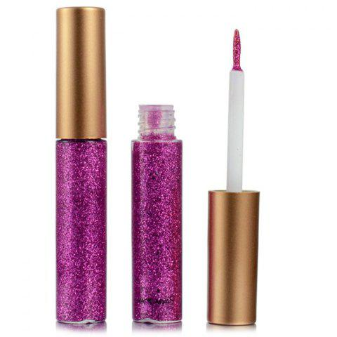 Colorful Shiny Eyeliner Sequined Glittering Eye Shadow - ROGUE PINK
