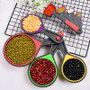 8pcs Foldable Silicone Measuring Spoons for Measurement Dried Food / Seasoning / Liquid - multicolor A
