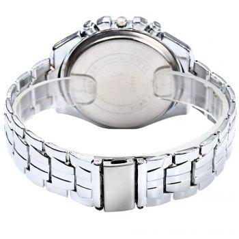 ORLANDO 410 Men Quartz Watch with Decorative Sub-dials - WHITE