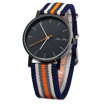 Feifan 62052G Male Quartz Watch Canvas Band