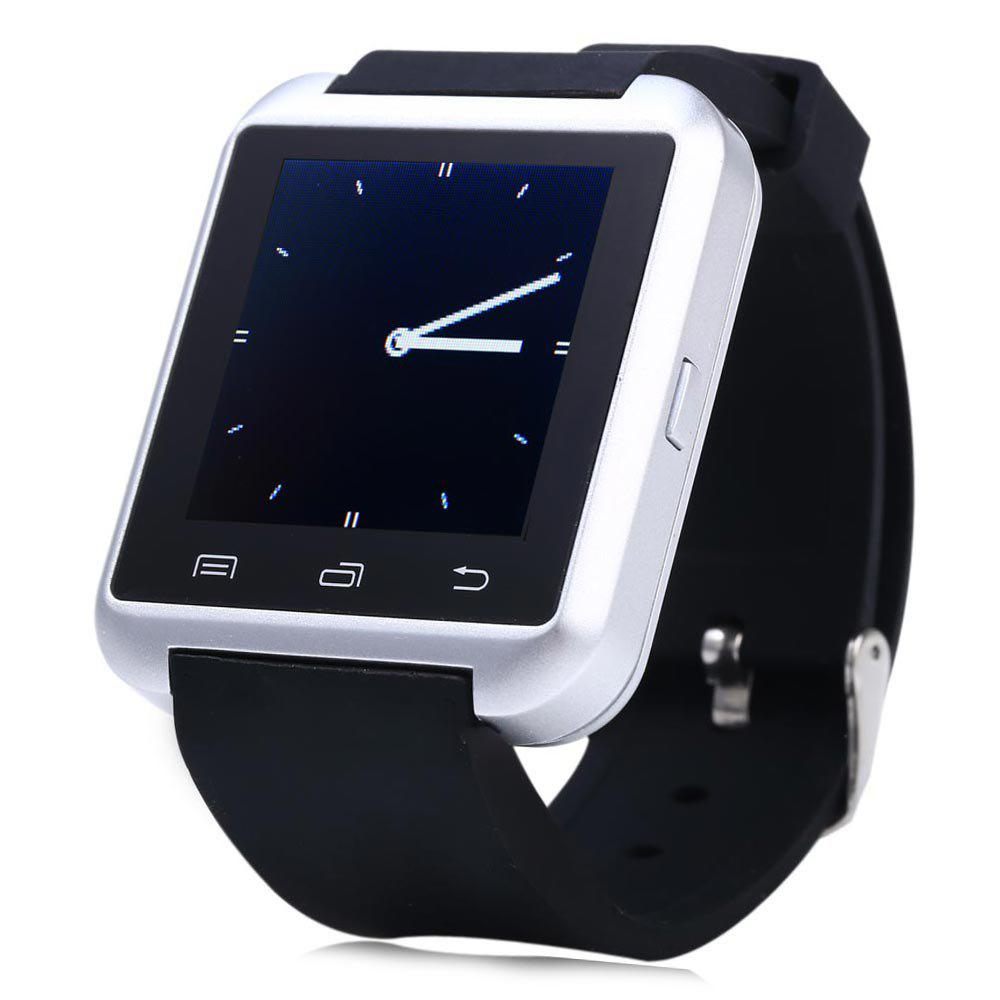 U8S Smart Bluetooth Watch with Pedometer for Sport - SILVER