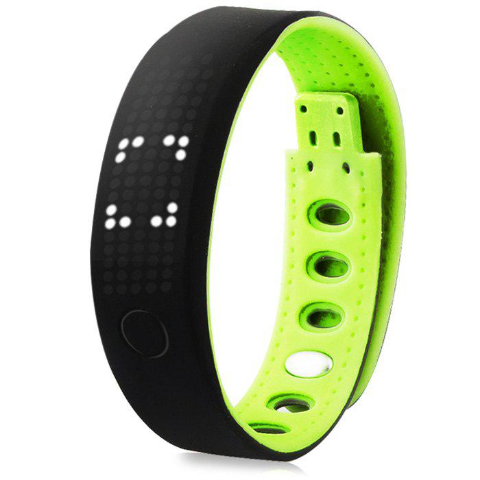 B17 Bluetooth 4.0 Smart Watch Sports Wristband - GREEN