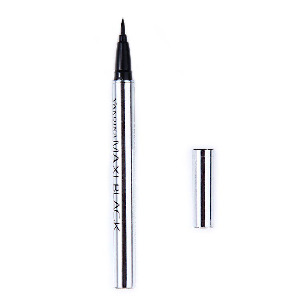 Ultimate Black Long-lasting Waterproof Eyeliner Pencil Pen - BLACK