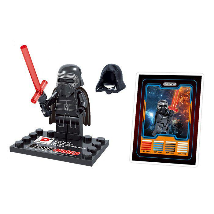 Dargo 867F Jouet Mini Personnage The Force Awakens - multicolorcolore