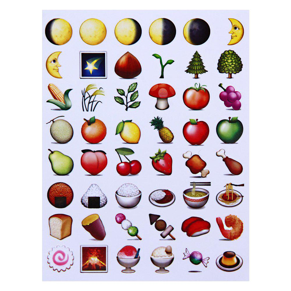 Cute Novelty Emoji Sticker Paster for Home Decor Phone Decoration