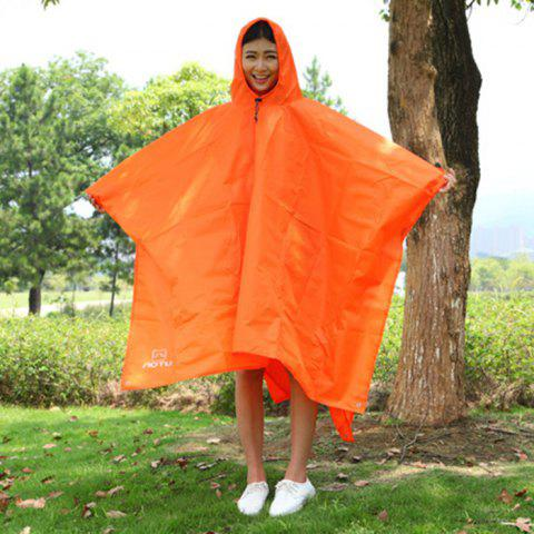AOTU AT6927 3 in 1 Multi-function Raincoat for Outdoor Camping - ORANGE
