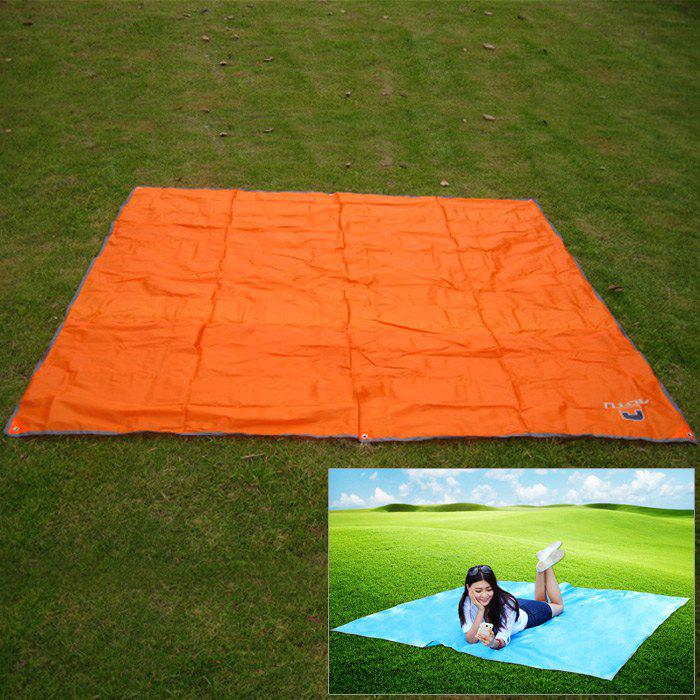 AOTU AT6210 215 x 215cm Large Water Resistant Moisture-proof Mat ORANGE