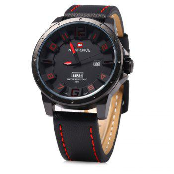 Naviforce 9061 Men Quartz Watch with Day Date Function