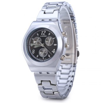 Longbo 8399A Luminous Pointer Quartz Female Watch