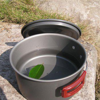 Buy AOTU Outdoor 3L Single Pot Aluminum Alloy Made SILVER
