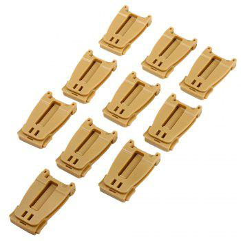 10pcs M436 30mm Molle Strap Webbing Buckle for Outdoor Survival