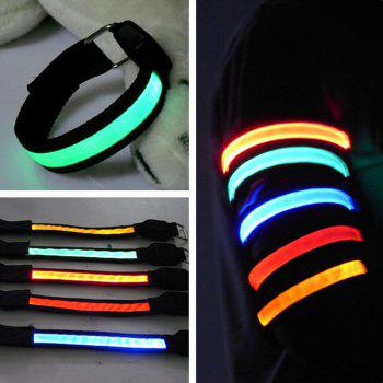 3-Mode 1 LED Bicycle Reflective Armband Flashing Belt