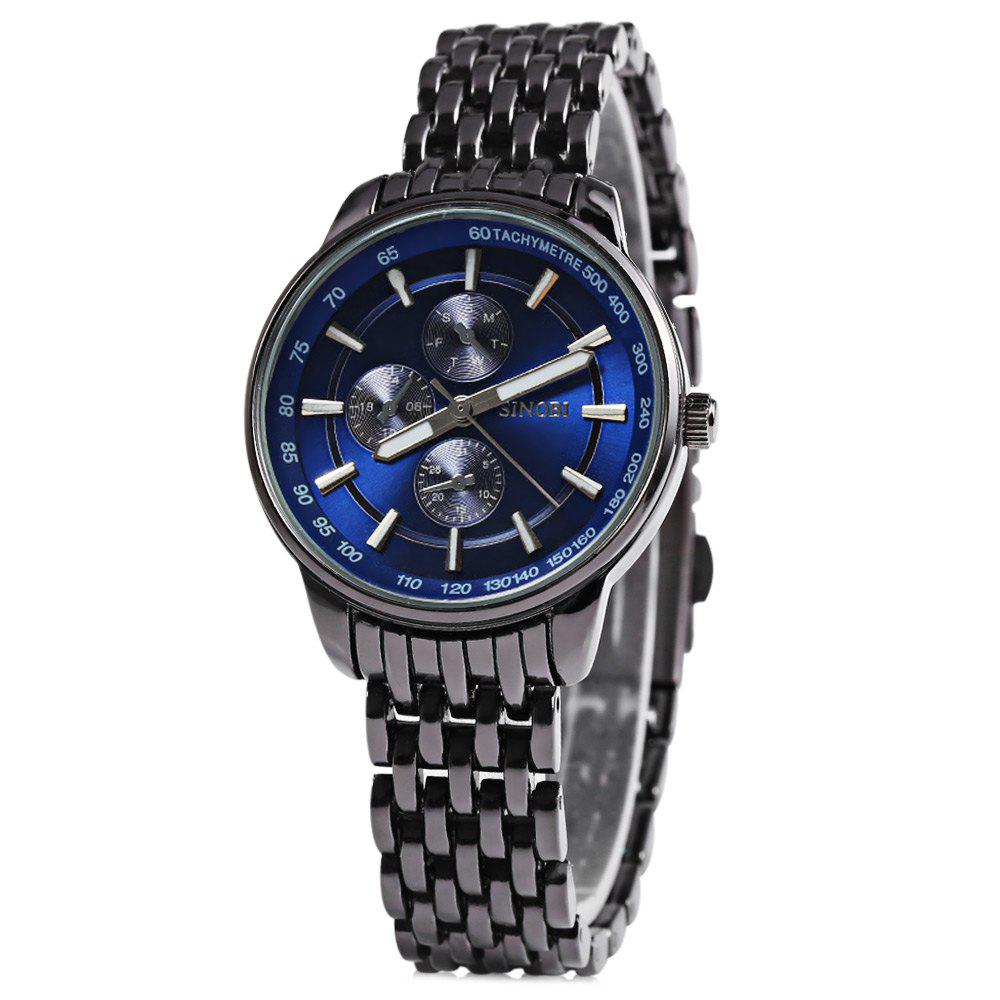 Sinobi 9268 Female Japan Quartz Watch Stainless Steel Strap 10M Water Resistance