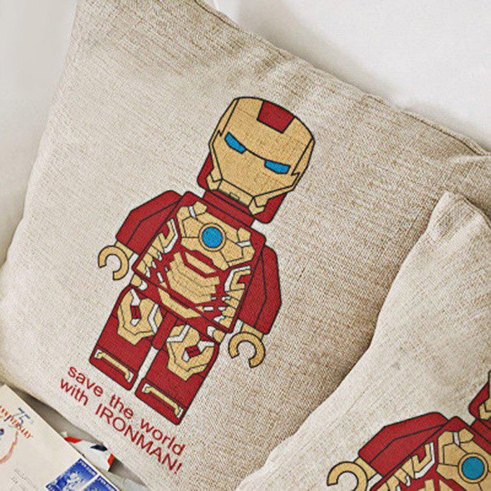 The Avengers Alliance Series Cotton Linen Pillow Comfortable Back Cushion Stuffed Chair Sofa Toy bar chair public house sofa stool free shipping ktv gmy chair villa computer lunch break chair