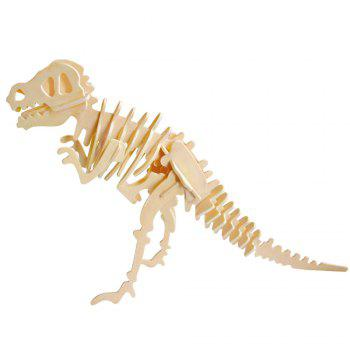 Robotime 3D Puzzle Dinosaur Style Wooden Educational Toy for Kids