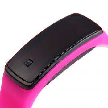 Men Women LED Digital Bracelet Watch Sport Wristwatch -  ROSE