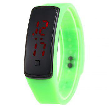 Men Women LED Digital Bracelet Watch Sport Wristwatch