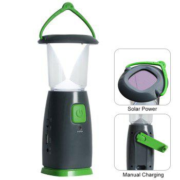 GAZELLE OUTDOORS DT-921D 3 Mode Solar USB Rechargable Camping Lantern