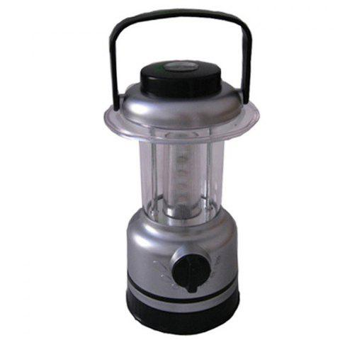 AOTU AT5529 150LM 4 LED 7 Mode Camping Lantern with Compass - TRANSPARENT