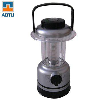 AOTU AT5529 150LM 4 LED 7 Mode Camping Lantern with Compass