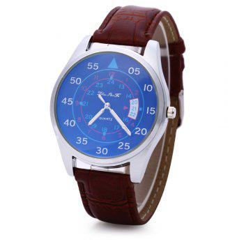 Male Quartz Watch Fashionable Sapphire Glass Water Resistance Wristwatch