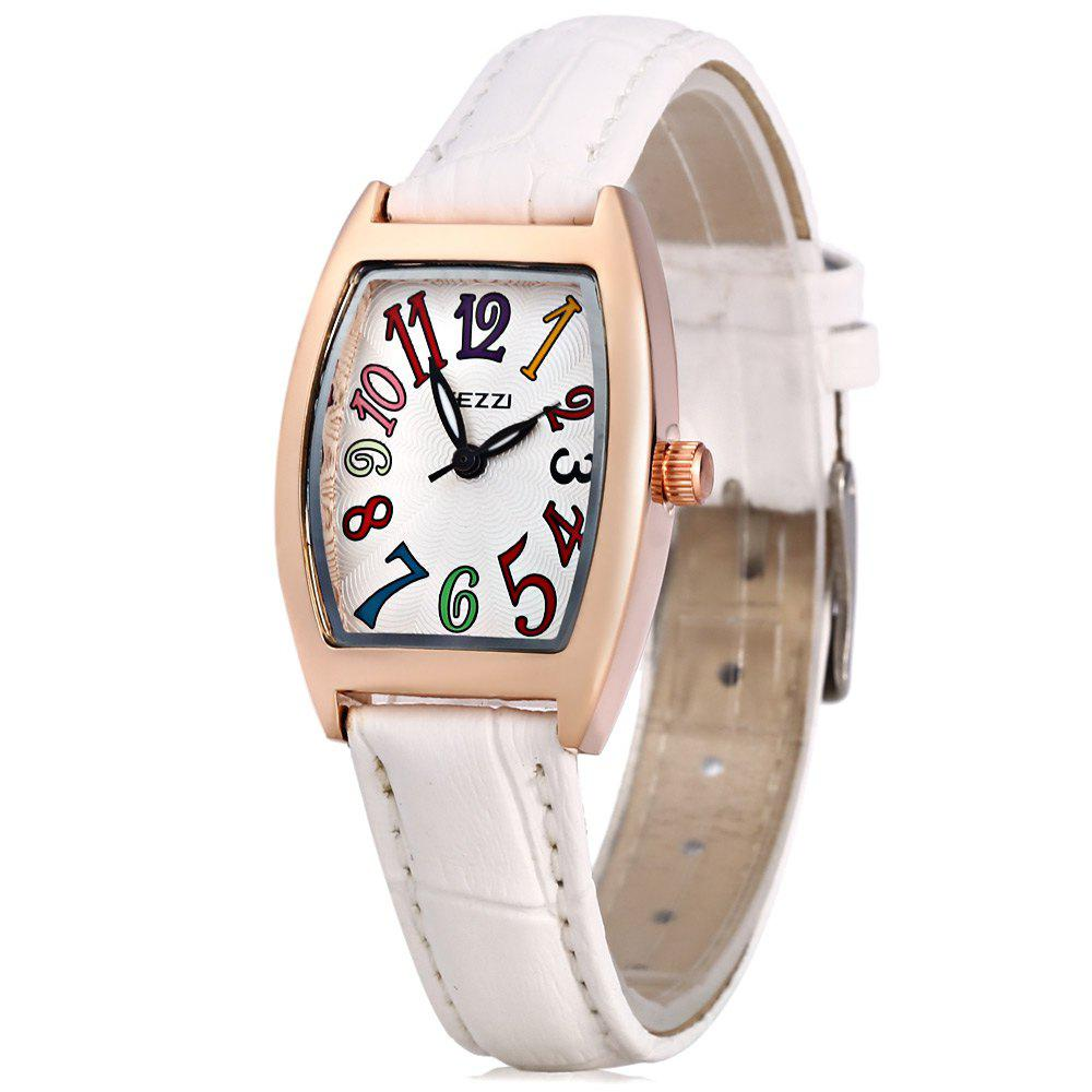 KEZZI K - 856L Women Quartz Watch Color Retro Number Wristwatch