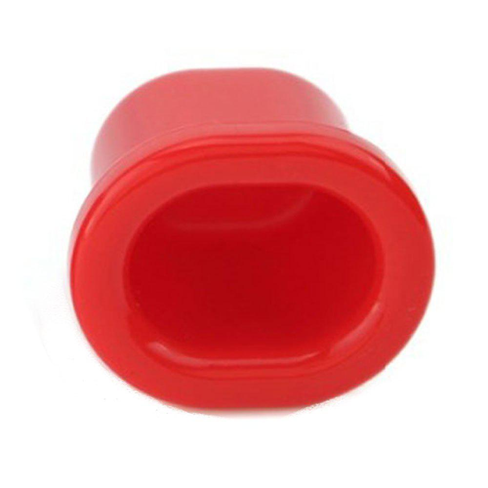 Size S Beauty Lips Enhancer Plump Pout Fuller Suction Device - RED S