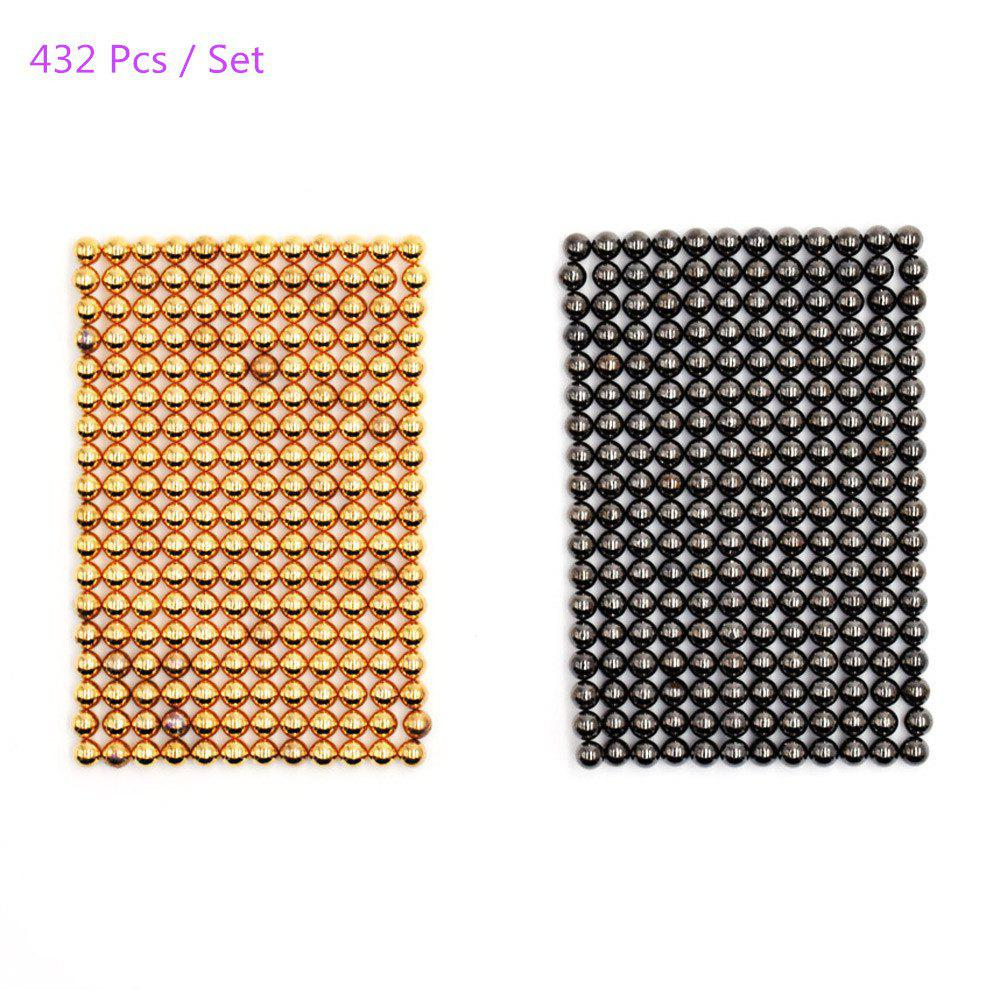 3mm Round Shape Magnetic Ball Puzzle Novelty Toy for DIY - 432Pcs