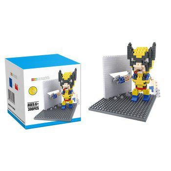 Super Hero Micro Diamond Building Block - 300Pcs Educational Kid Toy
