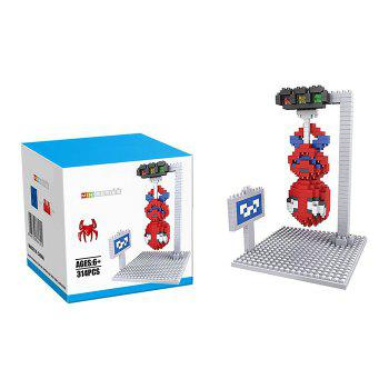 Buy Super Hero Micro Diamond Building Block - 31Educational Kid Toy COLORMIX