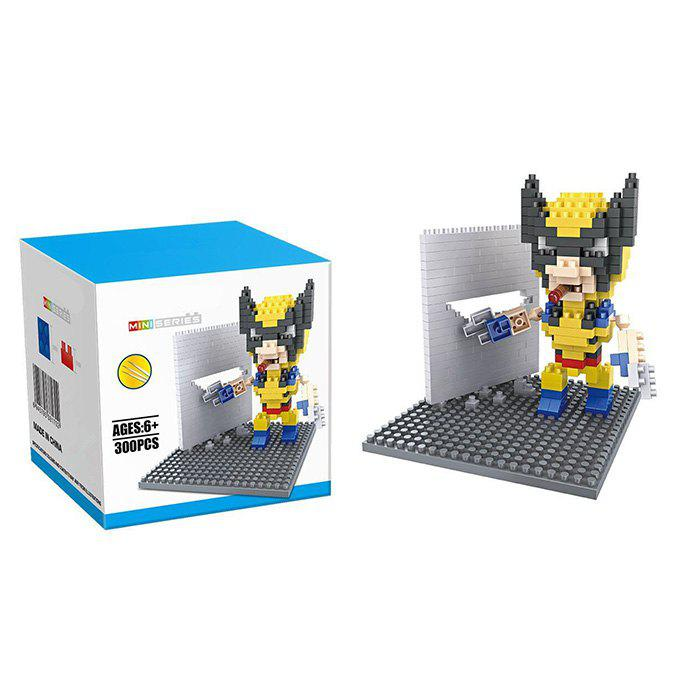 Super Hero Micro Diamond Building Block - 300Pcs Educational Kid Toy чехлы на передние сиденья autoprofi carbon plus crb 402pf bk bl black blue