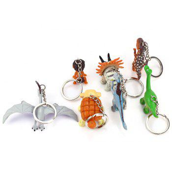 Key Chain Hanging Pendant Keyring Movie Product for Key Bag Decoration - 7Pcs / Set -  COLORMIX