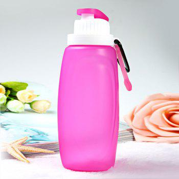 Myfriday S3 320ml Silicone Folding Water Bottle for Outdoor Camping Hiking