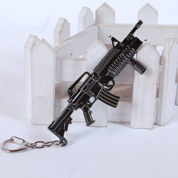 12cm Key Chain Sniping Rifle Hanging Pendant Metal Keyring for Bag Decoration - SNIPING RIFLE 2 SNIPING RIFLE 2