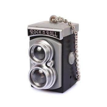 Retro Flash Camera Key Chain Hanging Pendant Keyring for Bag Decoration