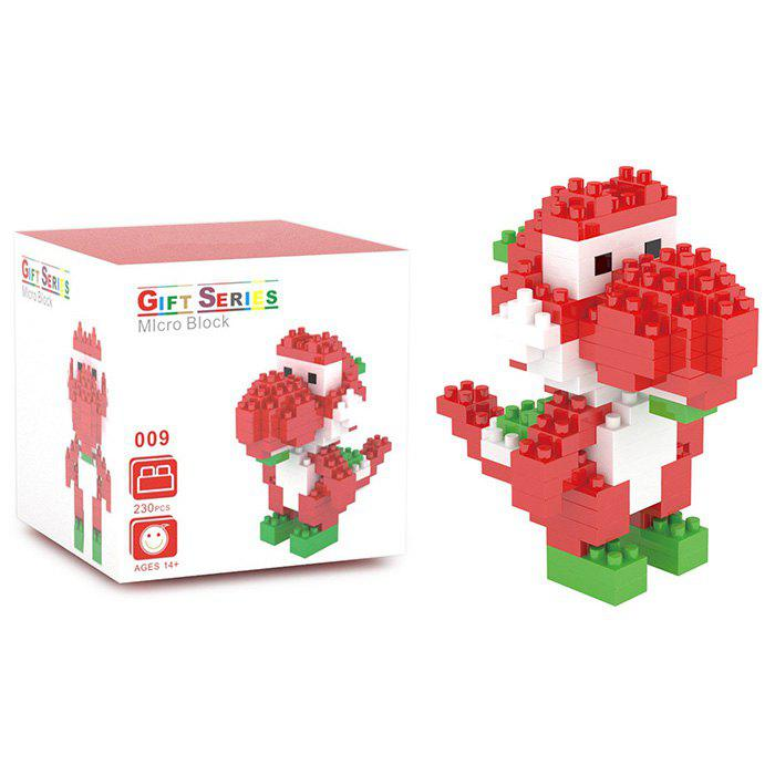 230Pcs Building Block Educational Movie Product Kid ToyHome<br><br><br>Color: RED