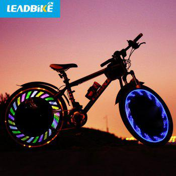 LEADBIKE A05 7 LED Bicycle Spoke Light IPX5 Waterproof Grade