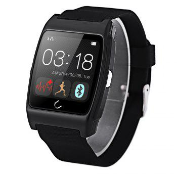 U Watch Ux Smart Watch with Heart Rate Monitors Pedometer Calorie Burned Sleep Monitor Remote Camera Anti-lost Find Phone
