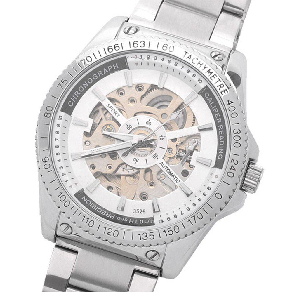 Daybird 3526 Hollow-out Dial Automatic Mechanical Watch for Men