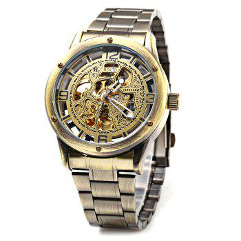 Boxio B9446 Hollow-out Dial Automatic Mechanical Movt Watch for Men