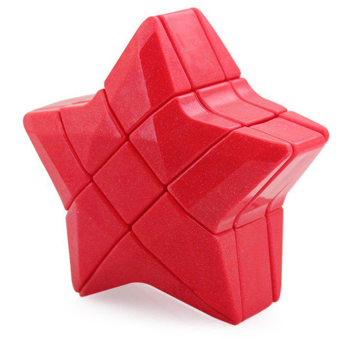 YONGJUN Moyu 7.5cm Creative Star Irregular Magic Cube Educational Toy for Kid yongjun moyu aofu 7x7x7 bread typed magic cube speed puzzle educational cubes toys for kids children grownups