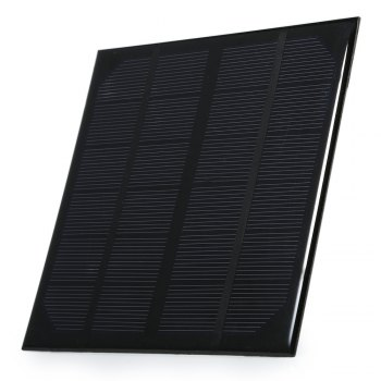 3W 5V USB Output Monocrystalline Silicon Solar Panel Charger 145 x 145mm