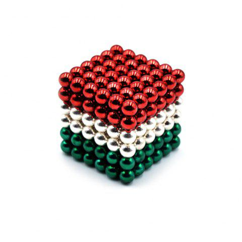 DECAKER 5mm 216Pcs NdFeB Magnetic Bead Novelty Educational Toy for Children - COLORMIX STYLE 1