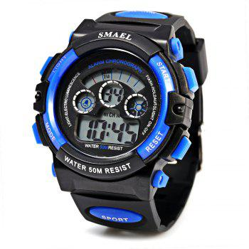 SMAEL 0508 Sports Digital Boys Watch 50M Water Resistant