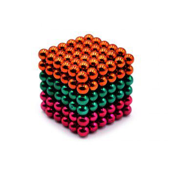 DECAKER 5mm 216Pcs NdFeB Magnetic Bead Novelty Educational Toy for Children